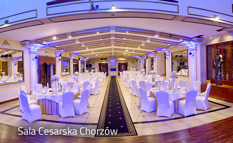 Sala Cesarska - Hotel Diament Arsenal Chorzów
