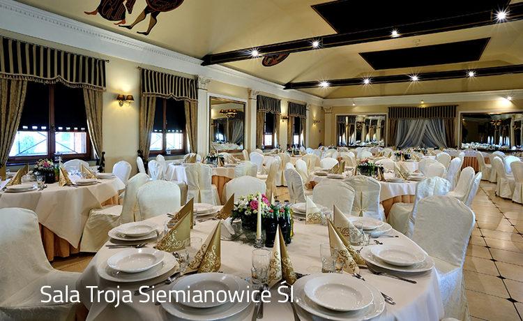 Sala Troja Hotel Diament Vacanza Siemianowice